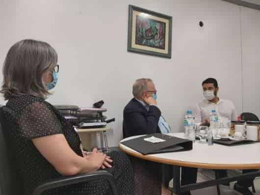 Necessidades do Fêmina foi pauta de reunião entre Simers e direção do hospital