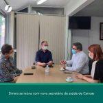 Em reunião com Simers, Secretário de Saúde de Canoas confirma contratação de novos médicos para o município