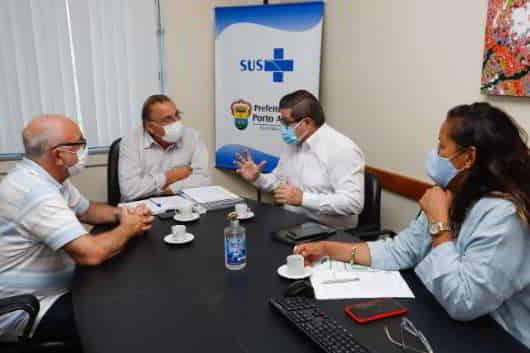Simers estrutura parceria com a SMS para vacinação aos médicos de Porto Alegre