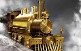 A Lenda do Trem de Ouro - Amantes da Ferrovia