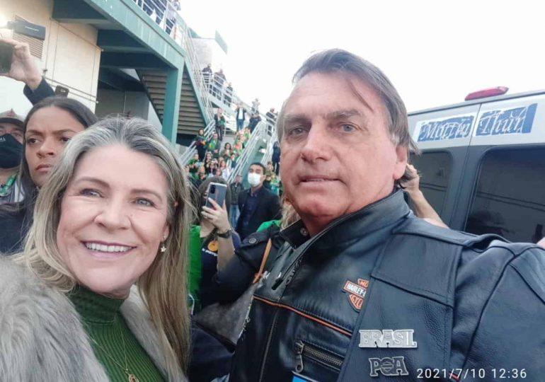 A Secretária de Desenvolvimento Econômico Turismo e Inovação  Simone Sabin foi altamente prestigiada pelo Presidente Bolsonaro na sua passagem pelo RS