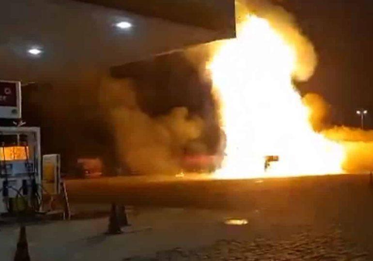 #Vídeo, Caminhão explode na cidade de Rio Claro SP