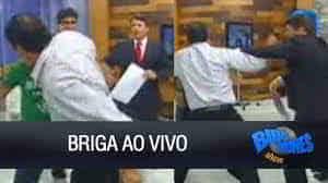 Briga ao vivo no Bibo Nunes Show - YouTube